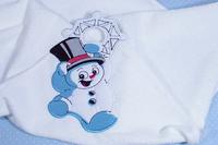 """Полотенце """"Снеговик"""""""